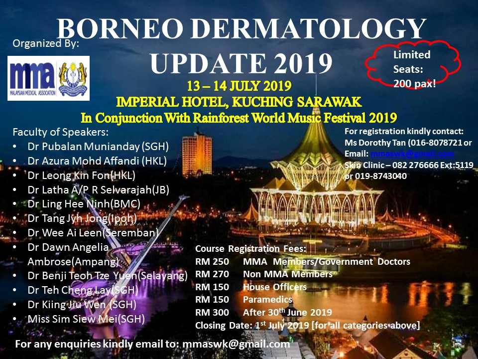 Flyer Borneo Dermatology