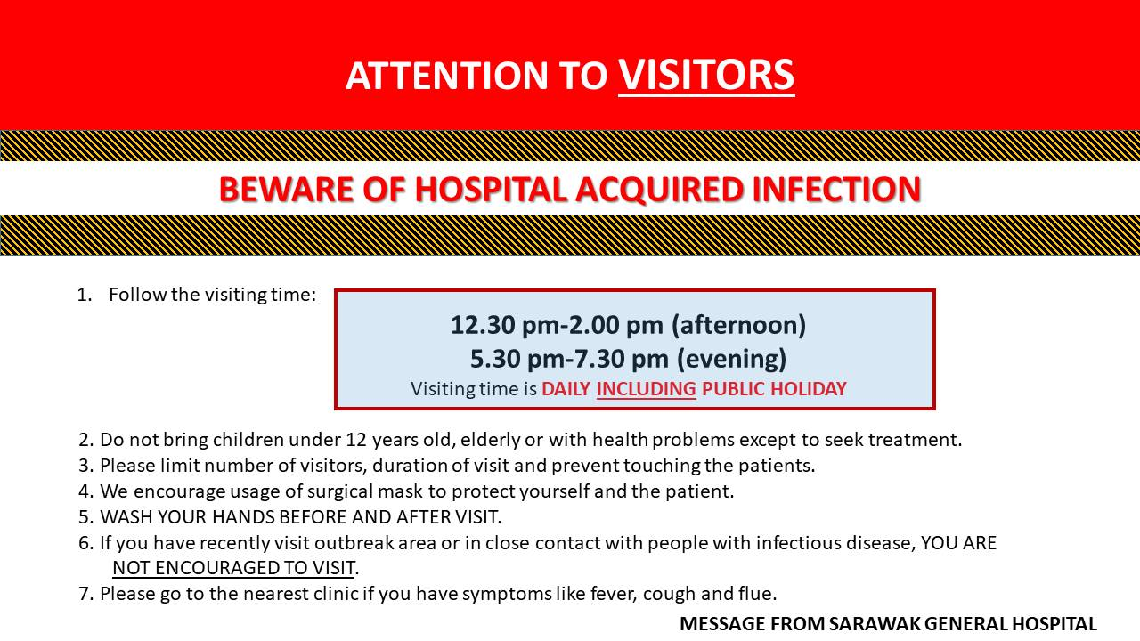 ATTENTION TO VISITORS